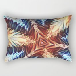 tri - Fire Rectangular Pillow