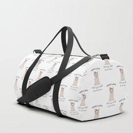 Mama Llama Duffle Bag
