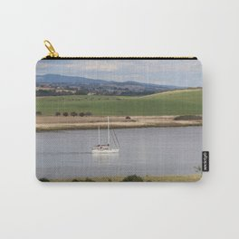 Motoring up River Carry-All Pouch