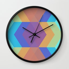 Chevron Dance Wall Clock