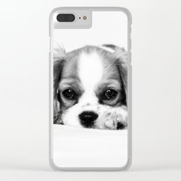 Angelic Cavalier Clear iPhone Case