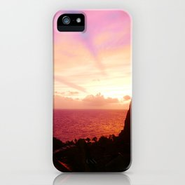 St Lucian Sunset iPhone Case