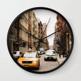 In Soho Wall Clock