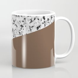 Granite with Emperador Color Coffee Mug