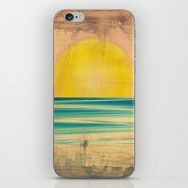 Ocean Sunset 1.0 Vintage iPhone Skin