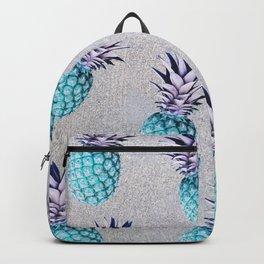 Pine-apple Bleu Backpack