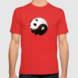 Panda yin-yang T-shirt