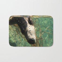 The Silly River Otter Bath Mat