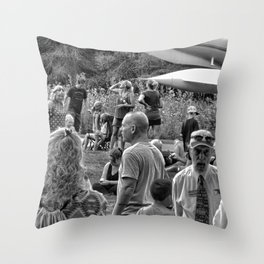 """""""Waiting For The Total Eclipse"""" Throw Pillow"""