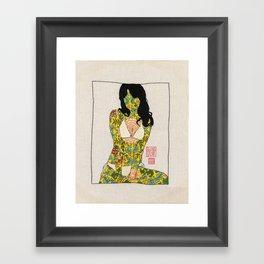 Mini Girl 01 Framed Art Print