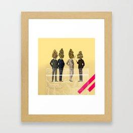 Gentlemen's Smoking Club Framed Art Print