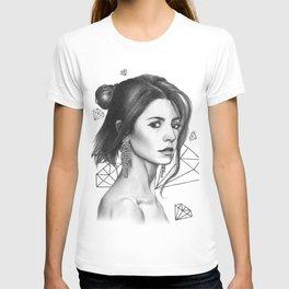 Diamonds are girl's best friend T-shirt