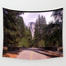 Ahwahnee Bridge, Yosemite Village Wall Tapestry