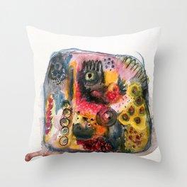 Stone dance Throw Pillow