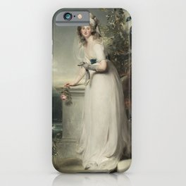 "Thomas Lawrence ""Portrait of Catherine Grey, Lady Manners"" iPhone Case"