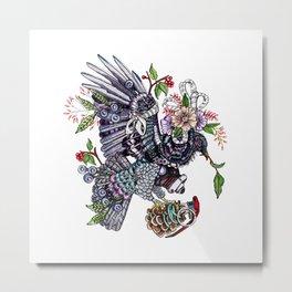 War Pigeon Metal Print