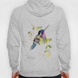Little bird children illustration hummingbird Hoody