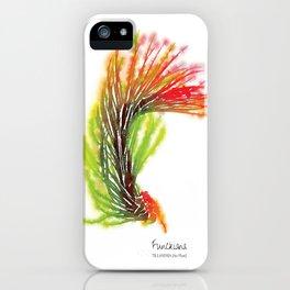 Tillandsia Funckiana Air Plant Watercolors iPhone Case