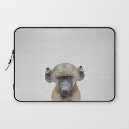 Baby Baboon - Colorful Laptop Sleeve