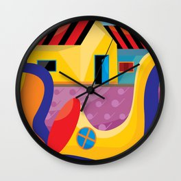 Music-and- field Wall Clock