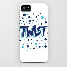 Twist N.13Bis Modele Rond iPhone Case