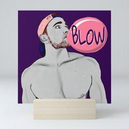 Blow Mini Art Print