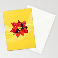 Happy Red Christmas - A Stroke of Good Fortune Stationery Cards