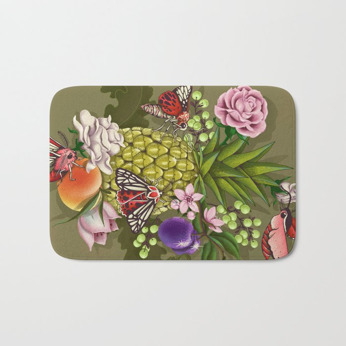 Glam Tropical Bath Mat