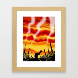 Dark Satanic Mills Framed Art Print