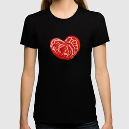 Big love in big heart T-shirt