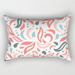 Coral Fest Rectangular Pillow