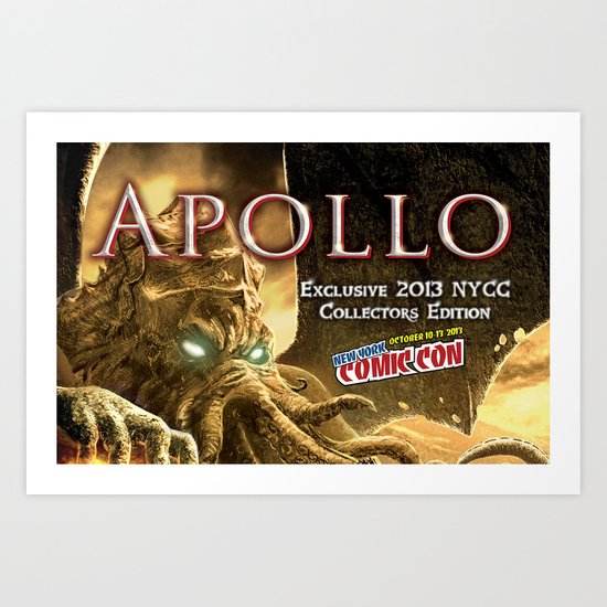 Apollo - NYCC 2013 Exclusive Art Print