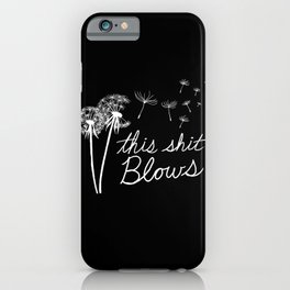 Gone To Seed iPhone Case