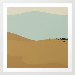 Dunes III Art Print