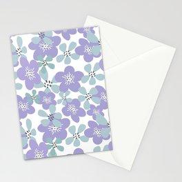 Maya Periwinkle Stationery Cards