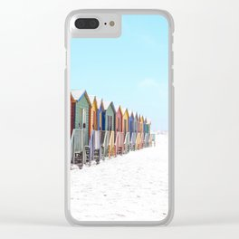 Cape Town, South Africa Clear iPhone Case