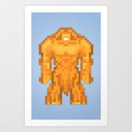 PixelWorld vol. 1   Sasquatch Art Print
