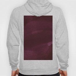 Abstract modern dark burgundy watercolor Hoody