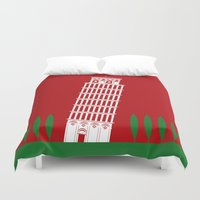 italy Duvet Covers featuring ITALY by Marcus Wild