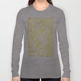 Golden Lady Long Sleeve T-shirt