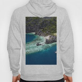 Island hopping around the Philippine Islands Hoody