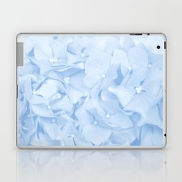 Hydrangea Flowers in Pastel Blue Color #decor #society6 Laptop & iPad Skin