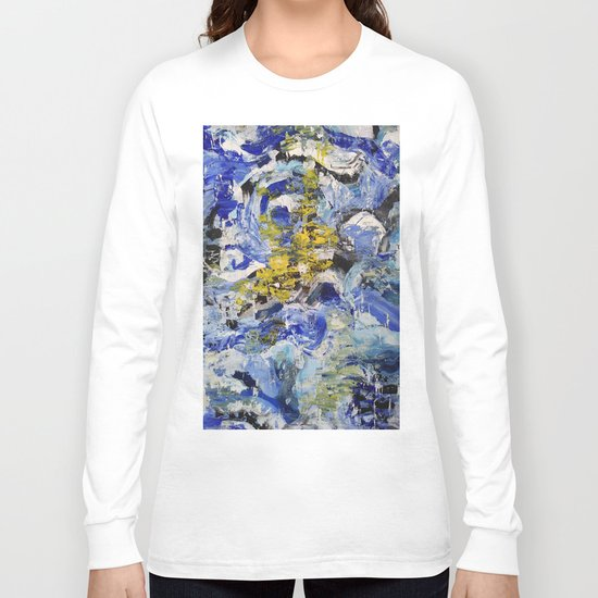 Abstract painting 5 Long Sleeve T-shirt
