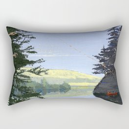 canoe Rectangular Pillow