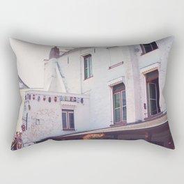 Clogs on the Wall Rectangular Pillow