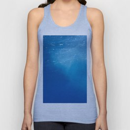 Looking Up at the Ocean Unisex Tank Top