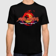 Mystic Warriors Black Mens Fitted Tee X-LARGE