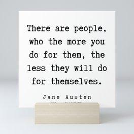 58   | Jane Austen Quotes | 190722 Mini Art Print