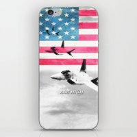 patriots iPhone & iPod Skins featuring United States Air Force(USAF) by MachoGifts
