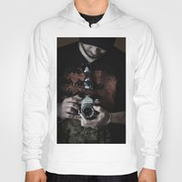 photographer Hoodies featuring photographer by caporilli